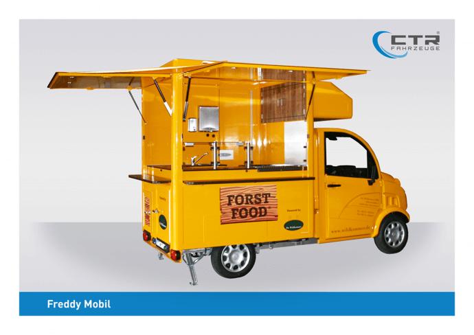 Freddy Mobil Cateringmobil Die Wildkammer