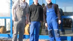 Christian Bielchen, Mario Wolter und Jan Buchweitz bei CTR