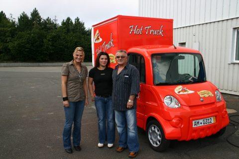 Das CTR-FreddyMobil als Hot Truck