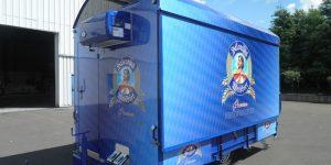 Der CTR-Bierwagen für Valentins Weißbier