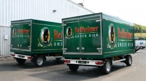 Der Lord setzt auf CTR - Park&Bellheimer Brauerei AG verstärkt Fuhrpark