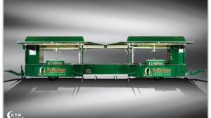 Doppel-Acht-Eventmobil