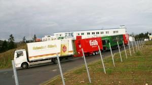 Drei Kühlanhänger für Massa Getränke in Troisdorf 1