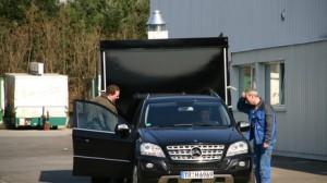 Exclusicer Imbisswagen mit Schwenkgrill an Hotel Eurener Hof in Trier übergeben