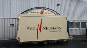 Exklusiver Weinwagen für Weinhaus Neumann