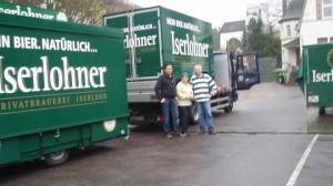 Fahrzeuge für Iserlohner Brauerei