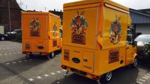 Flotte der FORST FOOD Mobile der Wildkammer aus Bad Sobernheim