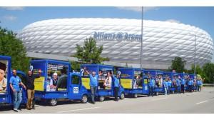 Freddy Mobil Promotionfahrzeug – Allianz Arena