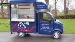 Freddy Mobil der Bäckerei Ernst