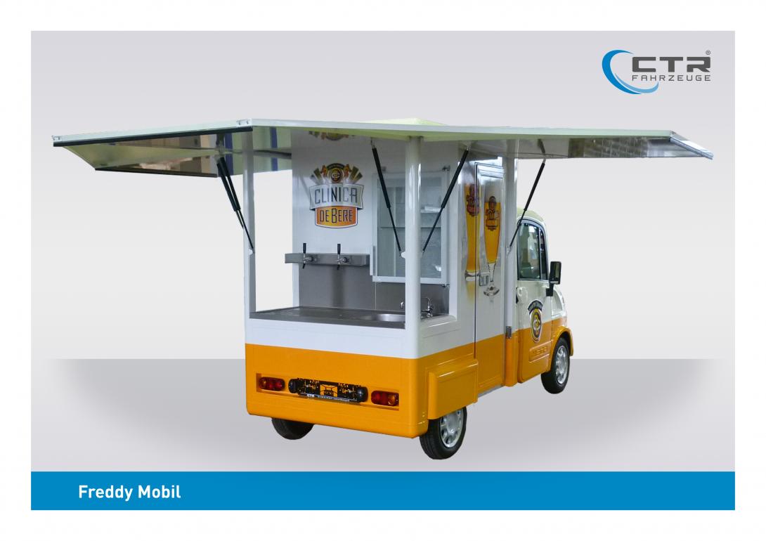 Freddy Mobil Ausschankmobil Standard Rent SRL
