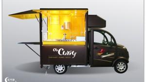 Freddy Snackmobil im Design von O's Curry
