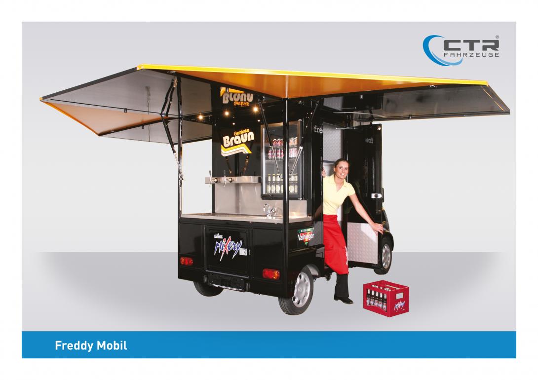 Freddy Mobil Ausschankmobil Braun Blieskastel