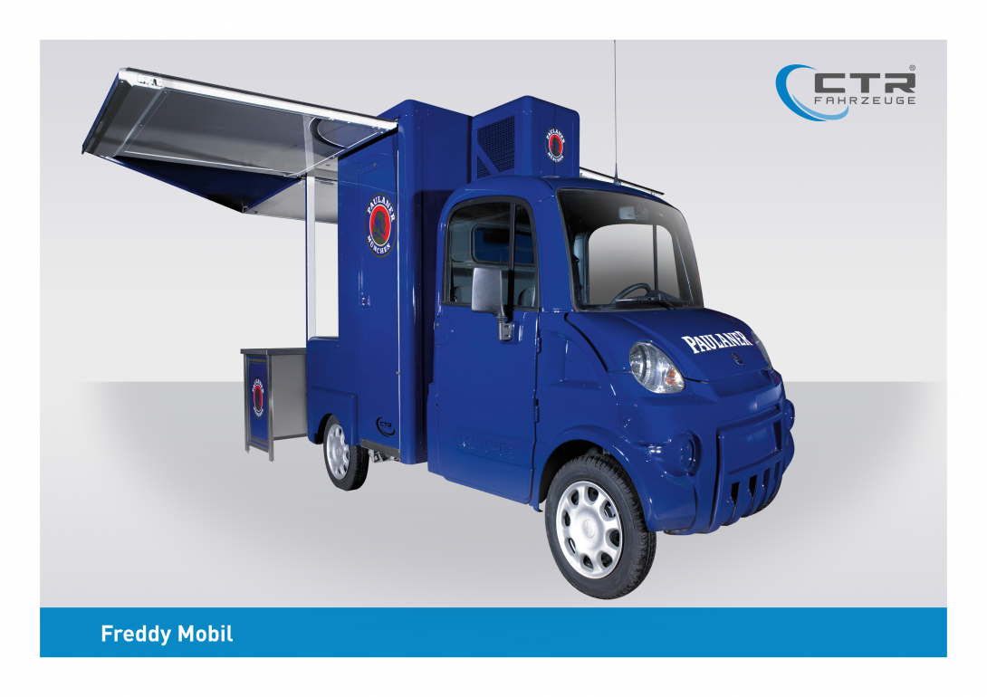 Freddy Mobil Ausschankmobil Paulaner