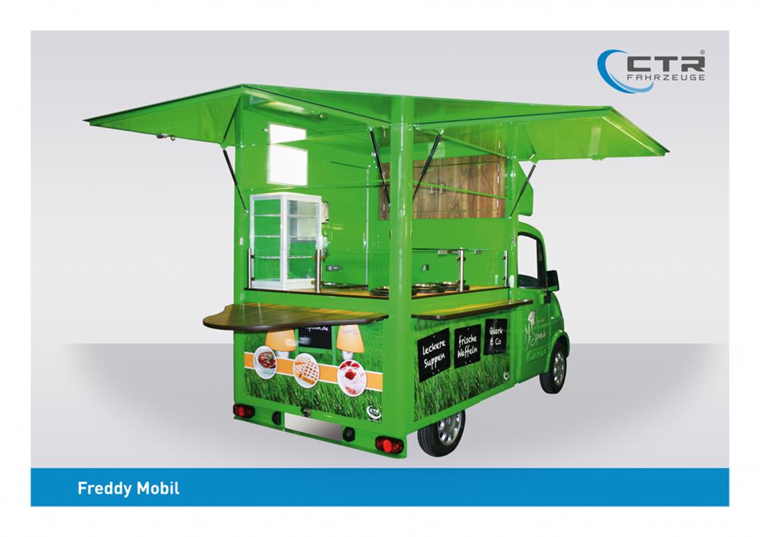 Freddy Mobil Cateringmobil Suppenmobil Blobel