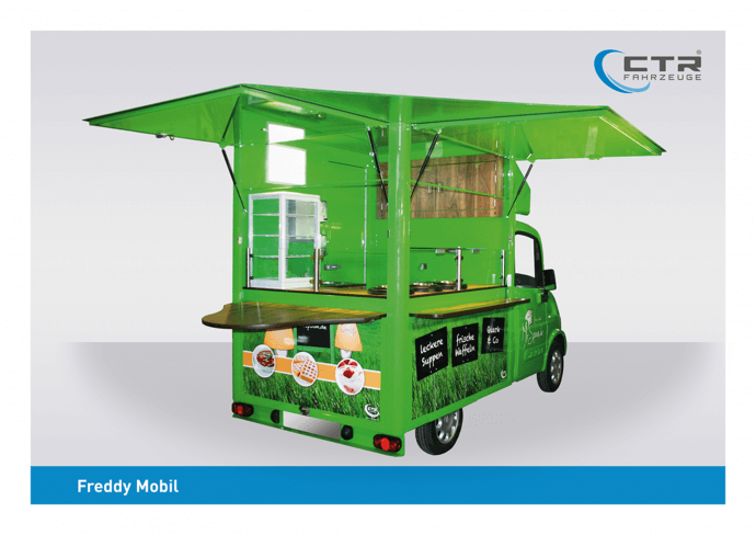 Freddy Mobil Cateringmobil Suppenmobil Blobel