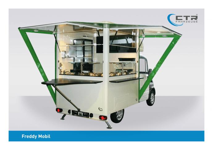 FreddyMobil Cateringmobil Suppenmobil kleine Schorfheide