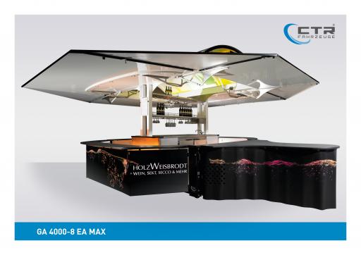 Weinausschankwagen GA 4000-8 EA Max Wein Artrium'