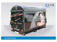 Weinausschankwagen GA 4000-8 EA Max WeinArtrium geschlossen