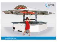 Ausschankwagen GA 4000-8 EA Max