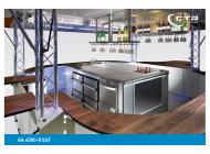 Weinausschankwagen GA 4000-8 EA Traverse Götz Thekengestaltung