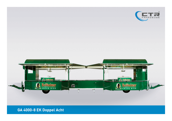 Eventfahrzeug Doppel-Acht GA 4000-8 EK Park Bellheimer