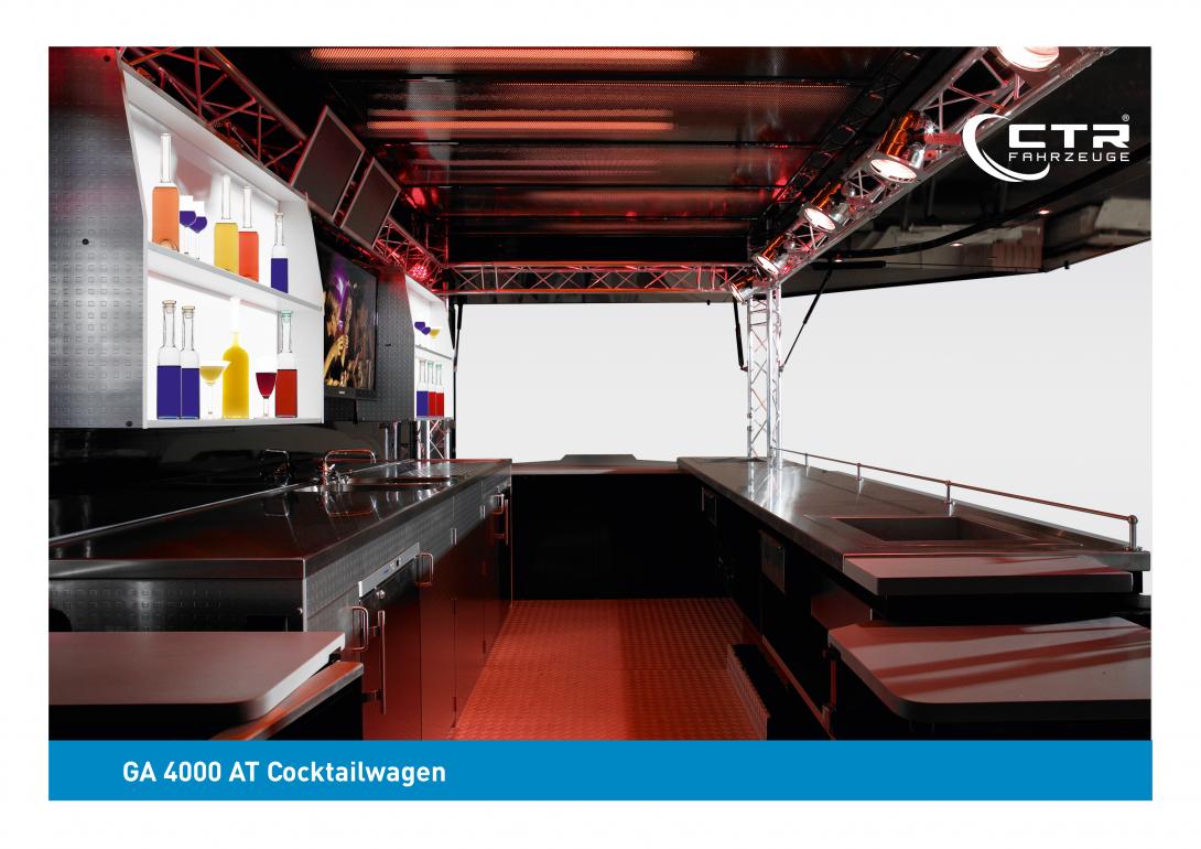 Mobile Cocktailbar GA 4000 A Cocktail Amirco Thekengestaltung