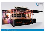 Mobile Cocktailbar GA 4000 AT Cocktail Welte