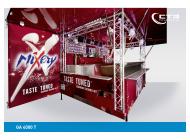 Ausschankwagen GA 4000 T Mixery Thekengestaltung