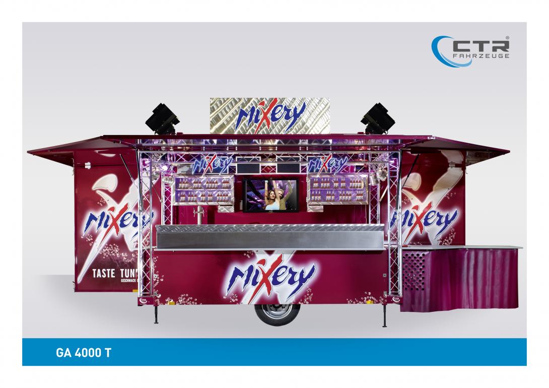 Ausschankwagen GA 4000 T Mixery