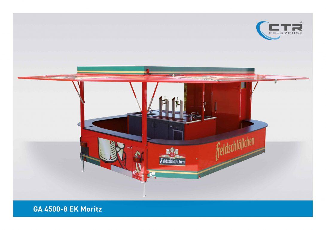 Ausschankwagen GA 4500-8 EK Moritz Mayer Feldschlößchen
