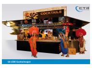 Mobile Cocktailbar GA 4600-AT Cocktails del Sol