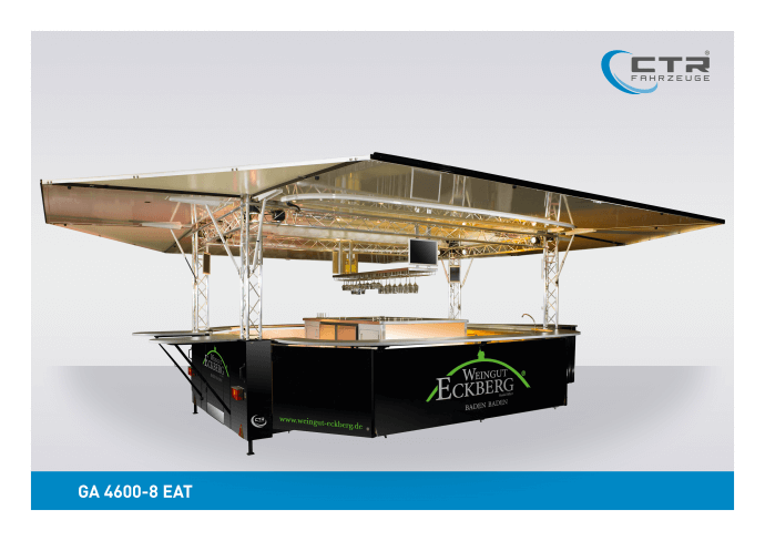 Mobile Cocktailbar GA 4600-8 EA Eckberg