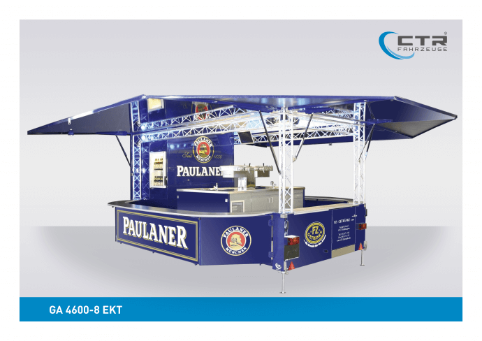 Ausschankwagen GA 4600-8 EK Traverse FZ Getränke Paulaner