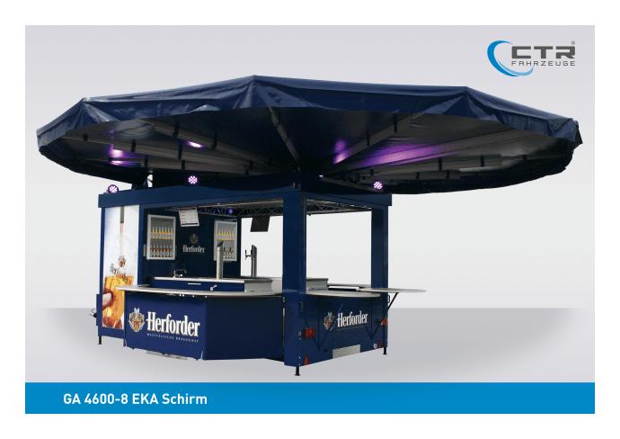 Eventfahrzeug GA 4600-8 EKA Schirm Herforder