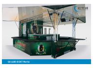 Ausschankwagen GA 4600-8 EKT Moritz Park & Bellheimer
