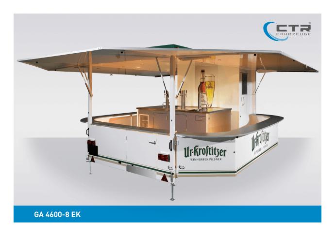Ausschankwagen GA 4600-8 EK Wippertaler Ur Krostitzer