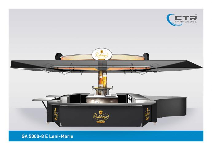 Ausschankwagen GA 5000-8 E Leni-Marie