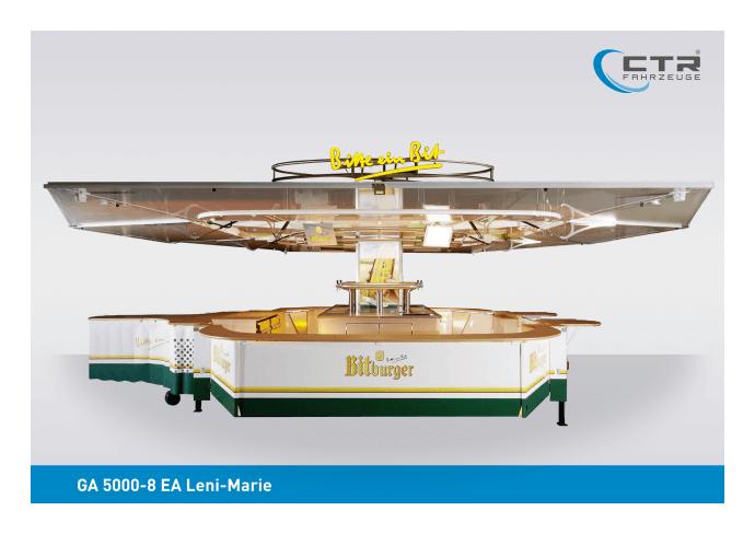 Eventwagen GA 5000-8 EA Leni-Marie Bitburger