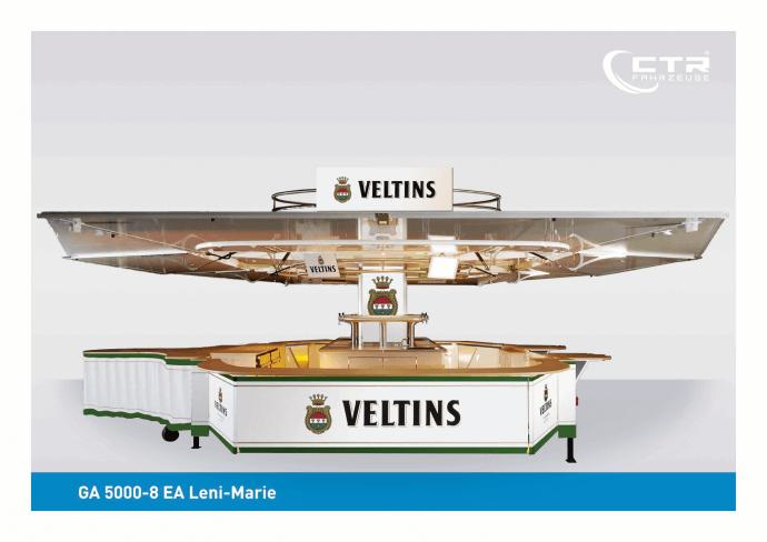 Ausschankwagen GA 5000-8 EA Leni-Marie Veltins