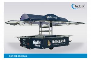Ausschankwagen GA 5000-8 EA René Theisen Gaffel Kölsch'