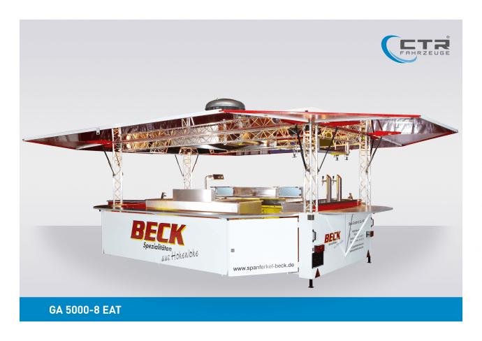 Grillwagen Imbisswagen GA 5000-8 EAT Beck