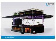 Grillanhänger Imbisswagen GA 5000-8 EKAT Grill EDM Management