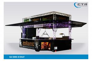 Grillanhänger Imbisswagen GA 5000-8 EKAT Grill EDM Management'