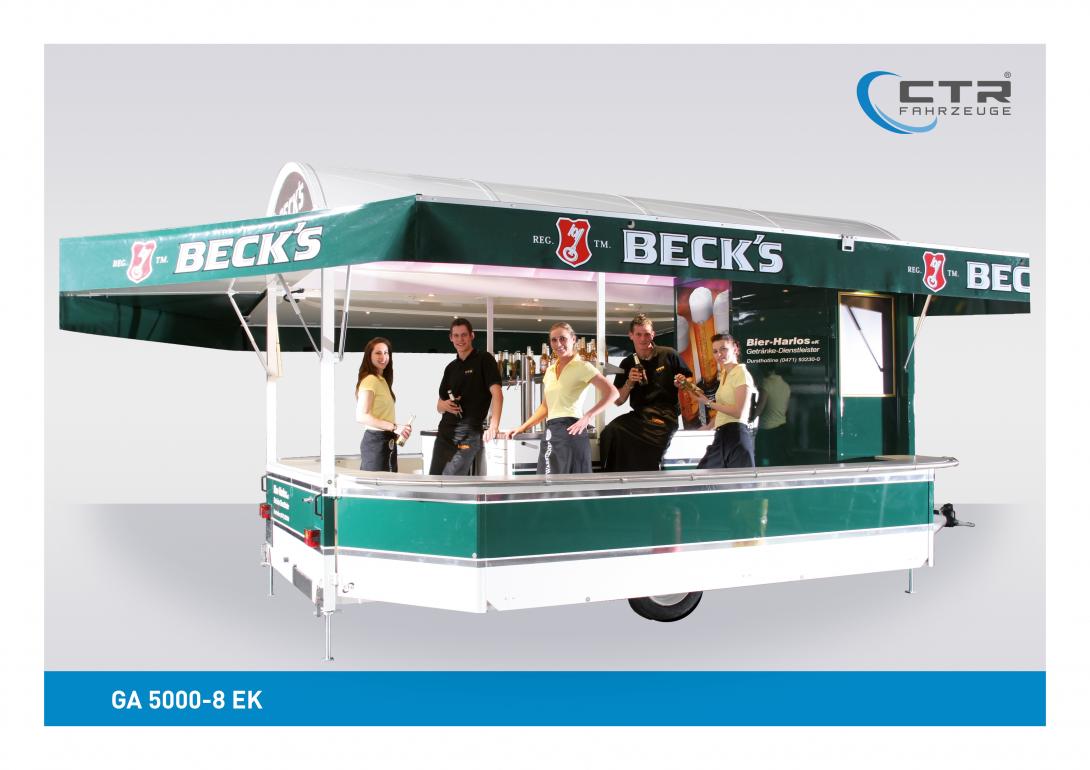 Ausschankwagen GA 5000-8 EK Harlos Becks