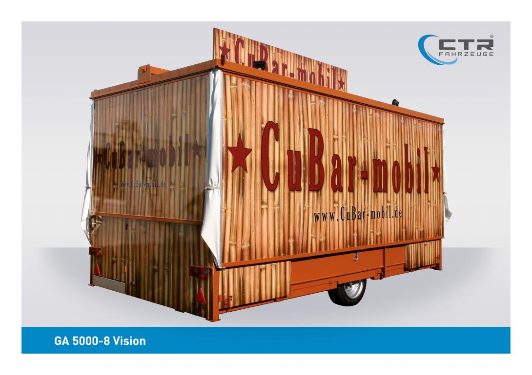 Mobile Cocktailbar GA 5000-8 Vision Cubar Mobil
