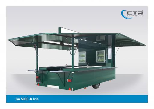 Ausschankwagen GA 5000-K Iris Eichbaum'