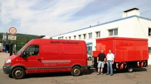 Gastronomie Fahrzeug Der Vogelsberger