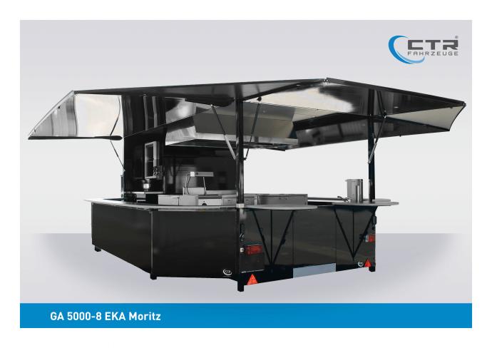 Grillanhänger Imbisswagen 5000-8 EKA Moritz Hein-Mück