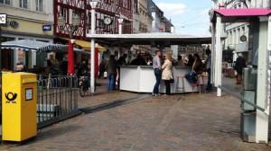 Hohe Weinkultur auf dem Trierer Hauptmarkt