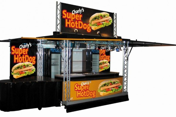 3500 AT – Hot Dog Wagen